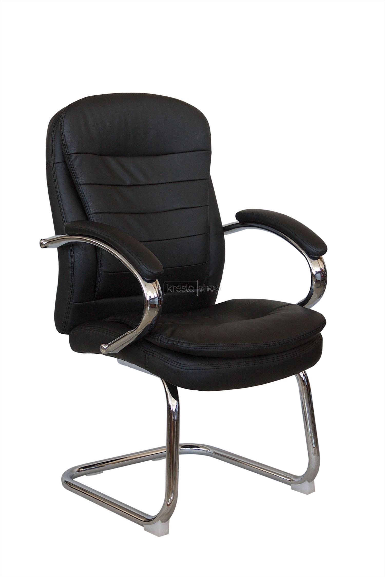 Купить конференц-кресло ? RIVA CHAIR RCH 9024-4+ЧЕРНЫЙ в Москве