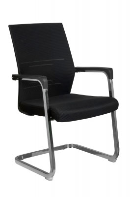 Конференц-кресло Riva Chair RCH D818+Чёрная сетка