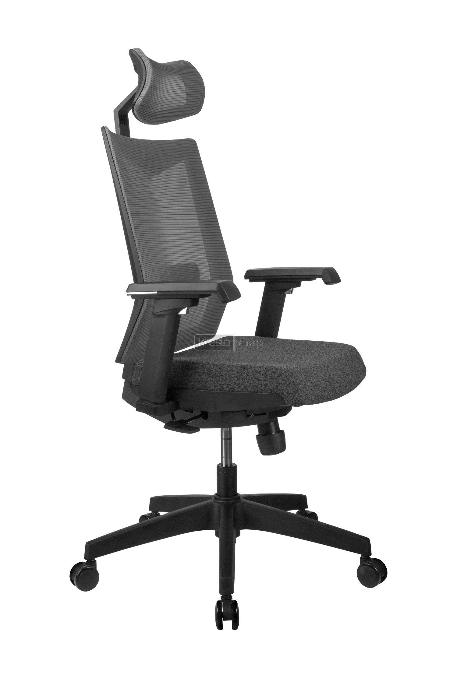 Купить офисное кресло ? RIVA CHAIR RCH Т27H+СЕРАЯ СЕТКА в Москве