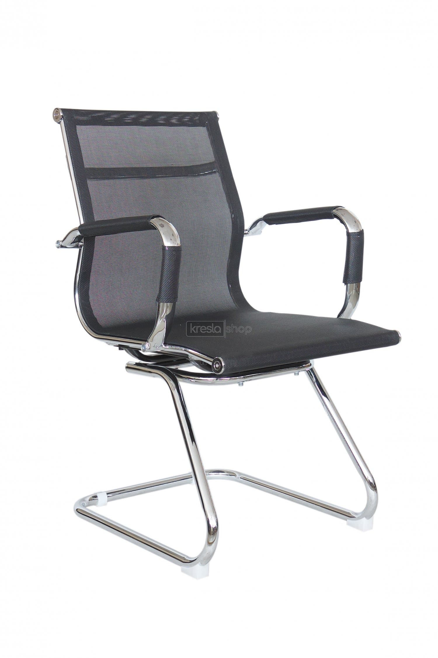 Конференц-кресло Riva Chair RCH 6001-3+Чёрная сетка