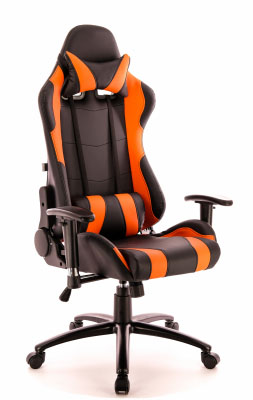 Геймерское кресло Everprof Lotus S2 EP-lotus s2 eco black/orange